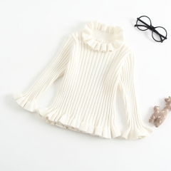 sweet ruffled top sweater for Mom and me