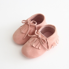 wholesale newborn baby sheep suede soft soles leather shoes