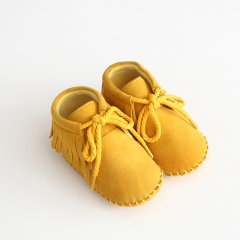 high quality soft sole baby genuine leather shoes in autumn & winter
