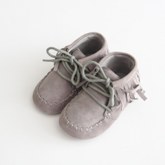 wholesale baby lovely handmade soft soles sheep suede shoes