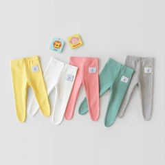 toddler girl all-match candy color leggings in autumn