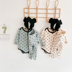 Baby winter warm pajamas sets