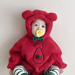 2020 new arrival winter baby chrismas sets 3M 6M 9M wholesale