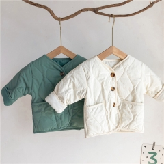 5 star quality winter thick cotton coat for toddler baby girl boy wholesale